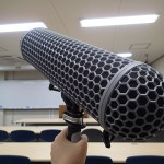 Shotgun microphone (highly directional type)